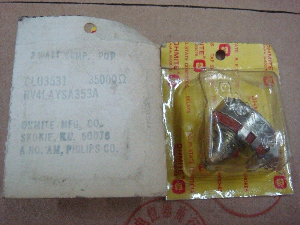 Original nouveau 100% US import haute qualité RV4LAYSA353A 35 K 353 potentiomètre d'importation avec serrure (commutateur)