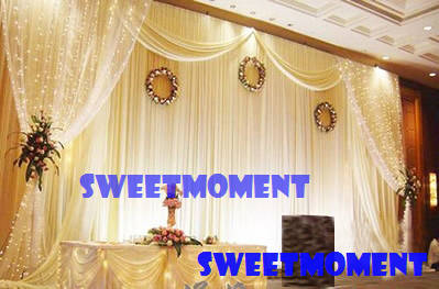 3x6m Wedding Backdrop For Wedding Decoration Wedding Drape And