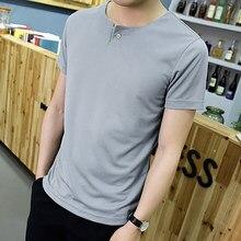 ce8f4eb8c5 2019 Badminton Aptidão Tshirt Dos Homens Quick Dry Plus Size V Neck Branco  Respirável Camiseta Harajuku Streetwear Blusa .