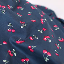 Cherry 100 cotton printed fabrics cloth for bed linen sheets diy patchwork sewing patterns fabric crafts materials textile tissu(China)
