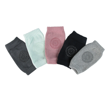 Baby Cotton Knee Pads Kids Anti Slip Crawl Necessary Knee Protector Babies Leggings Children Leg Warmers For Baby Playing Drop 3