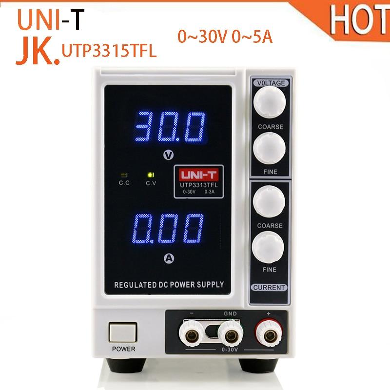 2018 hot UNI-T UTP3315TFL DC Power Supply Limitation Output Voltage Current 0~30V 0~5A Power Source uni t utp3313tfl precision dc power supply 3a current limitation output voltage 0 30v phone repair tools