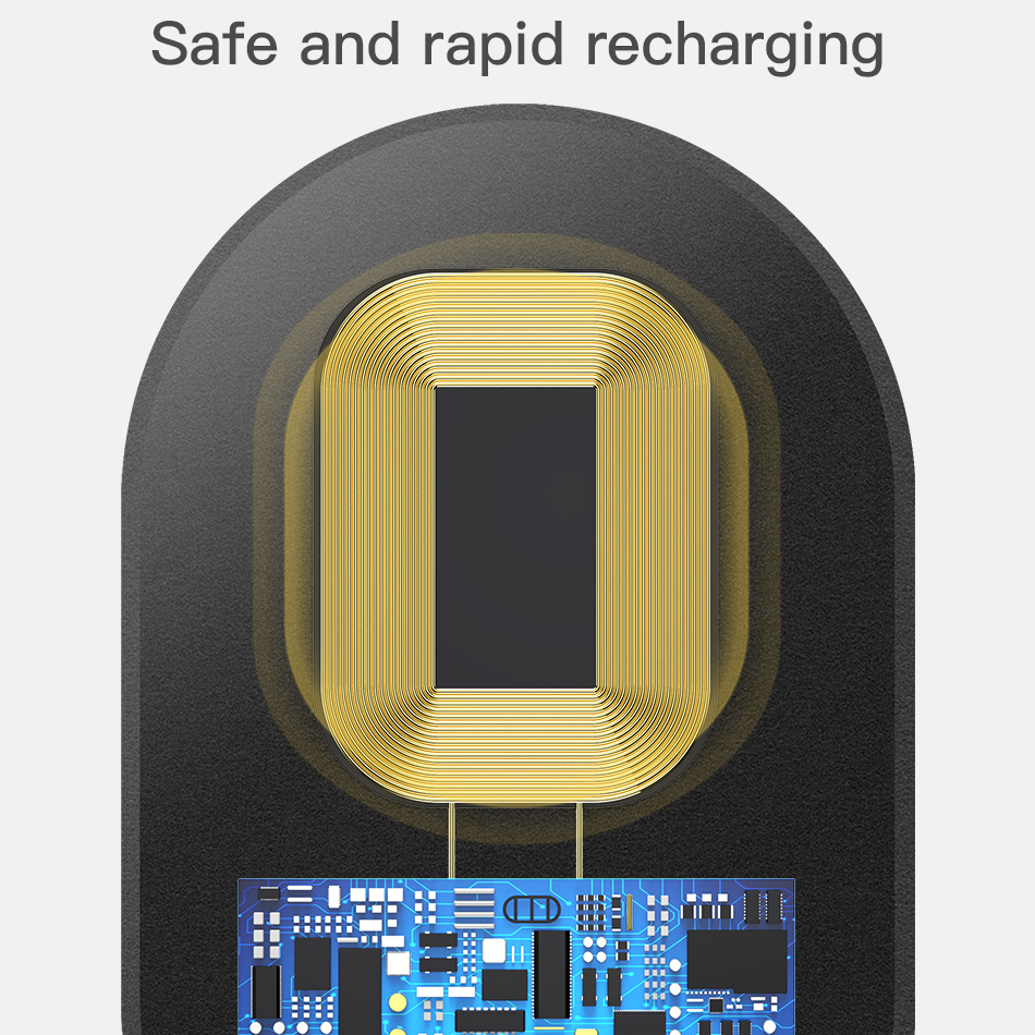QI Wireless Charger Receiver For USB Type-C, Micro & iPhone (For older phones who do not support wireless charging) 6