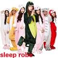 Unicorn Stitch Panda Unisex Flannel warm Hoodie Pajamas Costume Cosplay Animal Onesies Sleepwear For Men Women Adults,ty0727