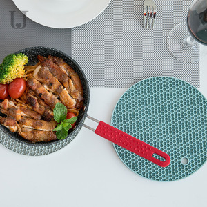 Image 4 - Youpin Jordan&Judy Beahive Double Sided Dining Mat Kitchen Anti iron Placemat Bowl Cup Mat Non slip Soft Mat