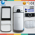 New Full Housing Cover Case +Keypads For NOKIA 6700c 6700 Housing Black Sliver Color +Free Tools