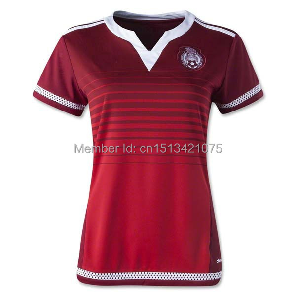8fee8270c 15 16 Mexico Women Soccer Jersey 2015 World Cup Green Home Red Away Mexico  Woman SANTOS CHICHARITO Girls Soccer Shirts Mujeres-in Soccer Jerseys from  Sports ...