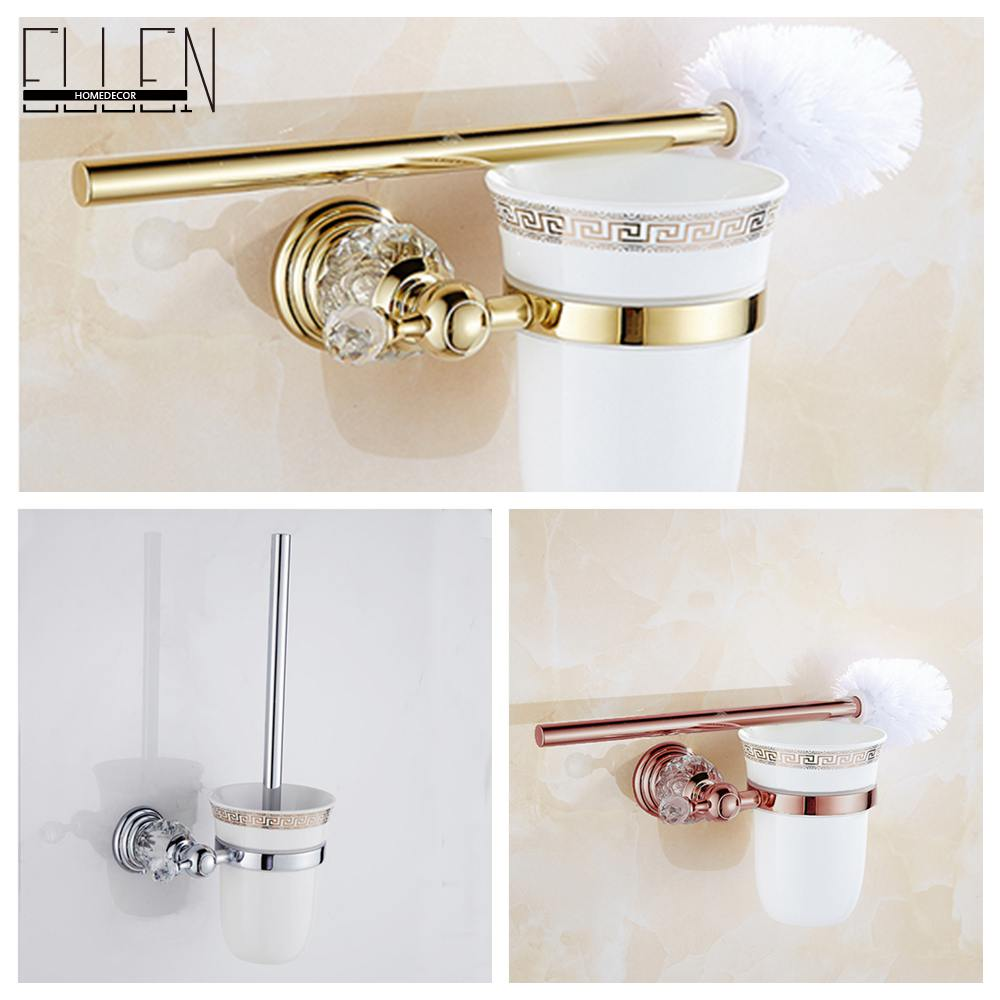 Brass Bathroom Accessories Compare Prices On Bath Accessories Toilet Brush Online Shopping