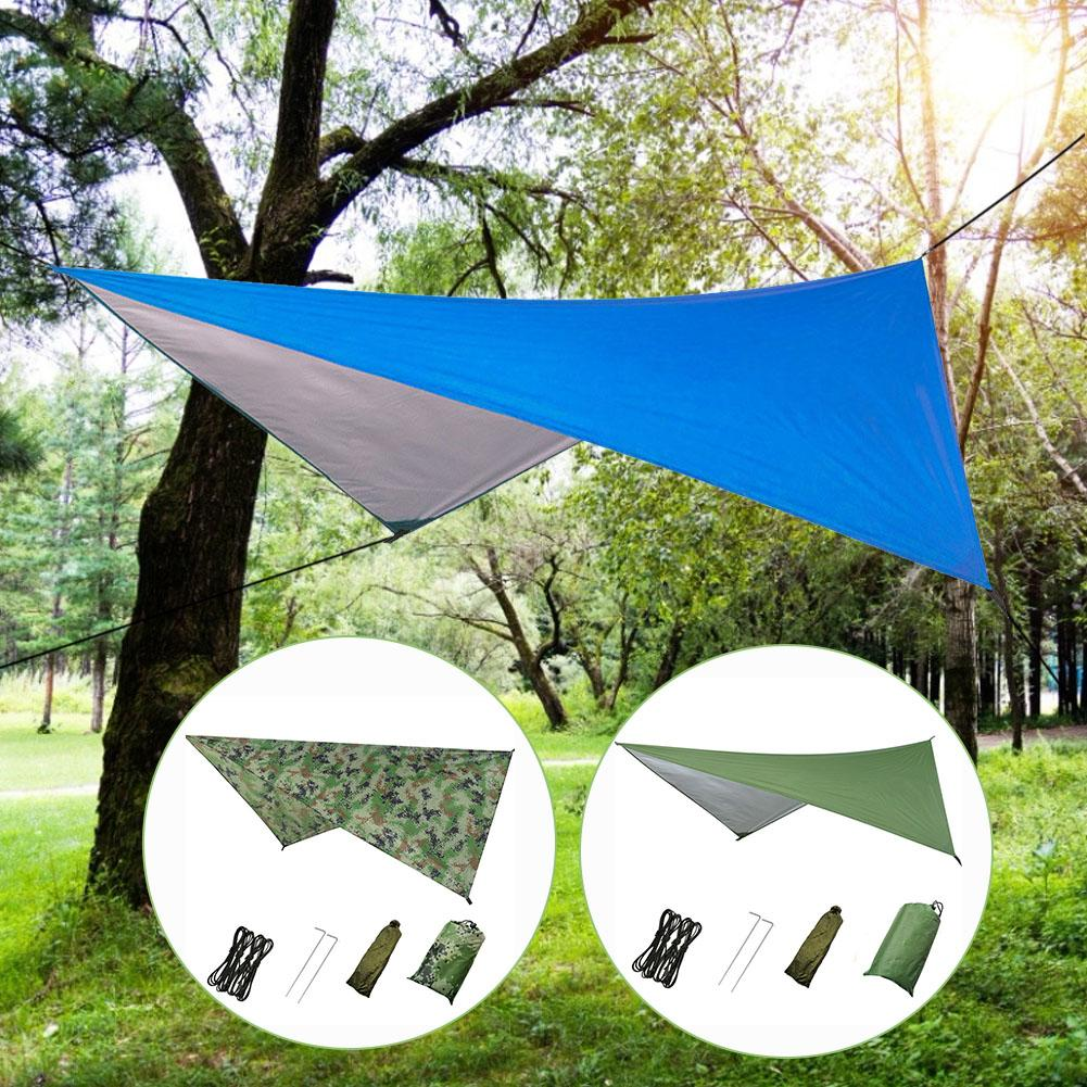 Outdoor Multi-Function Tent Canopy Waterproof Sunscreen Outdoor Tents Sunshade Beach Camping Supplies