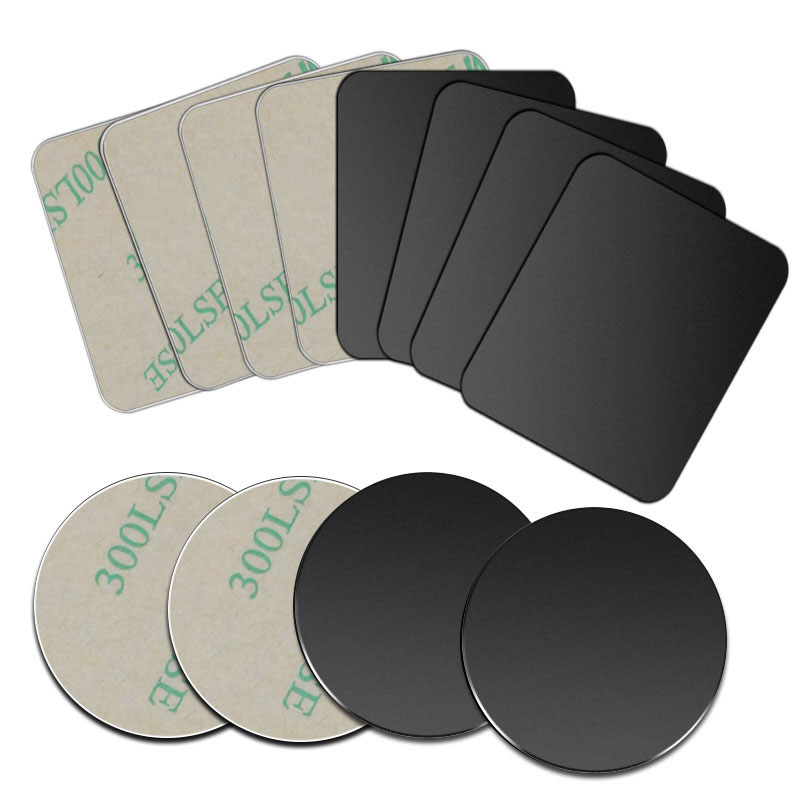 5pcs/1pc/lot Metal Plate Disk Iron Sheet For Magnet Mobile Phone Holder For Magnetic Car Phone Stand Holders
