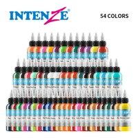 54 Pcs 1 Oz Professional Premium 54 Color Tattoo Ink Pigment Body Art Supplies Set Kits Tattoo & Body Art Tattoo Supplies