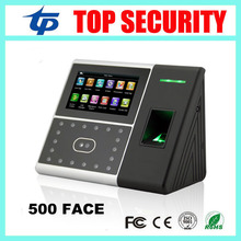 Cheapest face and fingerprint time attendance and access control iface302 with 4.3 inch color touch screen face time clock