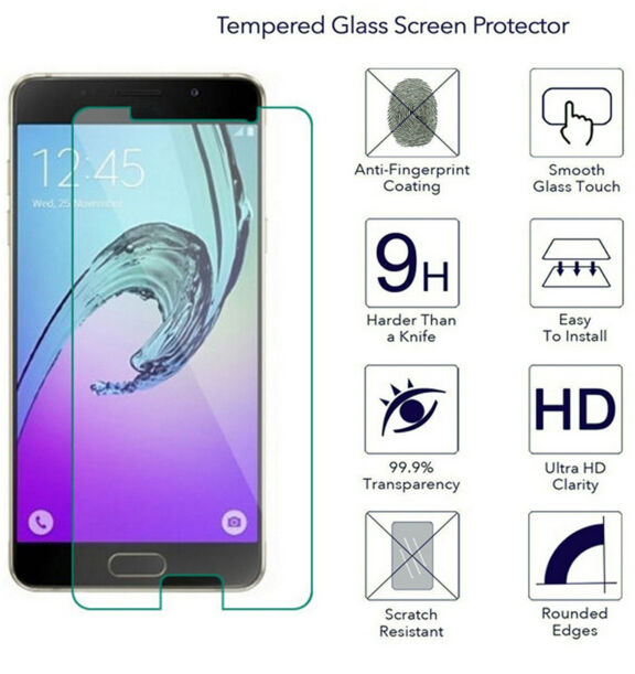 9H 0.26MM ultra thin Premium Tempered Glass Film For Samsung Galaxy s4 s4mini s5 s6 J3 J5 A3 A5 A7 2017 2015 G530 High Quality