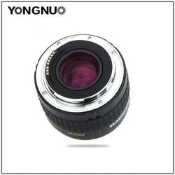 YONGNUO YN-2.0X II YN2.0X II удлинитель телеконвертера автоматический фокус EF конверсионный объектив для Canon 5DIII 6D 7D 10D EOS EF объектив