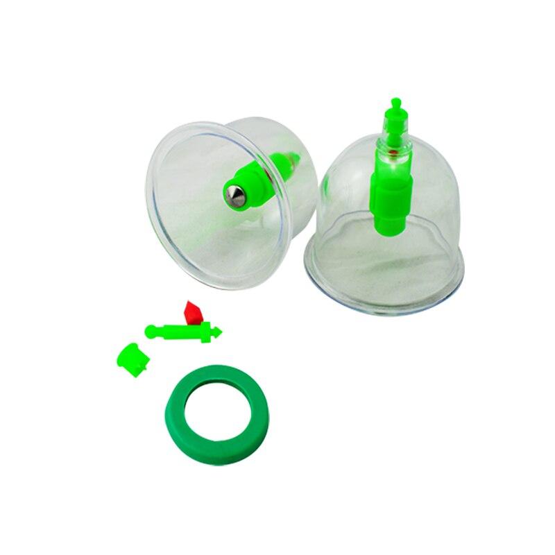 Горячая 12 чашек китайский Медицинский Вакуумный массажер для тела Магнитный акупунктурный вакуумный набор + 6 магниты для точечного массаж...