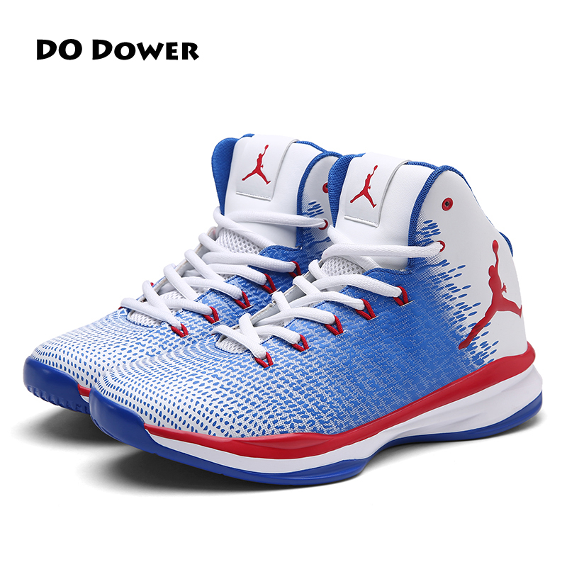 2017 Hot Lifestyle Men Basketball Shoes High Men Basketball Sports Sneakers Male Outdoor Jordan Shoes Basket Homme