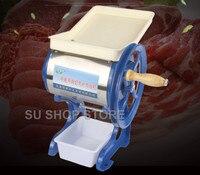 Household commercial manual pig meat slicer Grinder Cutter hand cranked beef lamp grinding Chopper machine meatloaf mincer