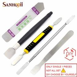 SANHOOII DIY 1x Metall Spudger Reparatur Werkzeug Handy Pry Eröffnung Tools Für iPhone Computer Handy Tablet