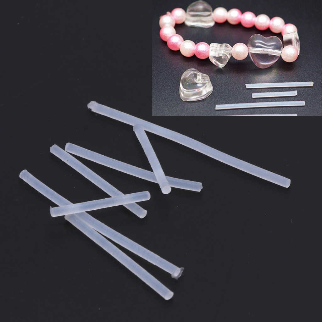 7Pcs Silicone Bar Sticks DIY Jewelry Hole Puncher For Resin Jewelry Making