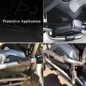 Image 5 - Motorcycle Engine Guard protector engine Bumper Guard Blocks for Yamaha TDM 900 MT 09 XSR900 FJ09 FZ09 FJR1300 XT660Z XT660X FZ8