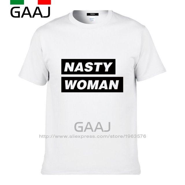 46ad9369 2017 New Hot T Shirt Women Print Letter Nasty Woman Tops Punk Tee Shirt  Femme T
