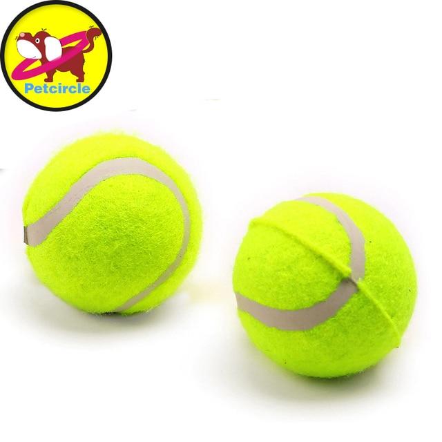 6 سنتيمتر ولعب الحيوانات الأليفة مضغ لعبة التنس الكرة نفخ العملاقة outdoor  الكريكيت الكرة وازم لون