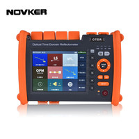 NOVKER NK5600 OTDR 30/32DB 80 км 1310/1550nm с VFL OPM источник света волокно оптический рефлектометр DHL Бесплатная доставка