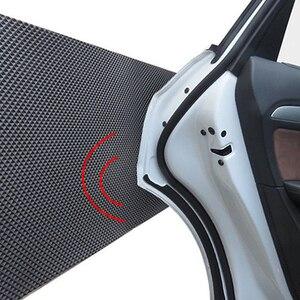 EAFC Car Door Bumper Bodywork Guard Anti Scratch Self Adhesive Parking Protector Garage Wall Corner Foam Sticker 200*20cm(China)