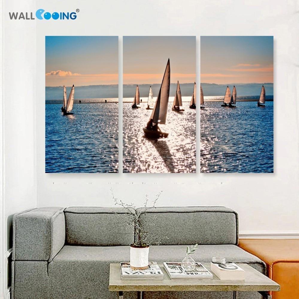 Aliexpress Com Buy 3 Piece Canvas Art Home Decoration: Aliexpress.com : Buy 3 Piece Canvas Wall Art Sea Venice