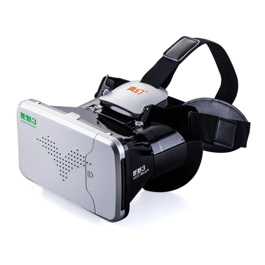 F17698/9 <font><b>RITECH</b></font> III <font><b>RIEM</b></font> <font><b>3</b></font> <font><b>Virtual</b></font> <font><b>Reality</b></font> 3D <font><b>VR</b></font> <font><b>Glasses</b></font> Head Mount Headset Google Cardboard for <font><b>3</b></font>.5-6 inch Smartphone 3D Movie