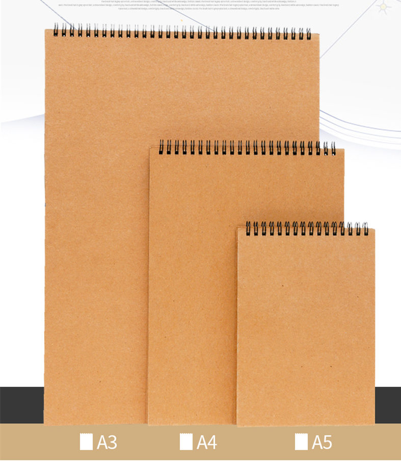 1pc 30sheets Professional Simple Sketchbooks Coil Binding Thick Paper Book Sheets A3 A4 A5 Art Sketch Painting Book Sketchbook Sketchbook A5 Sketchbook A4sketchbook A3 Aliexpress