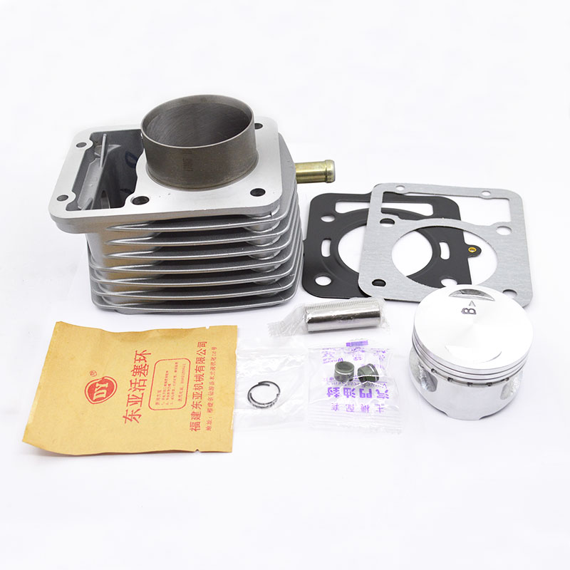 цена на Motorcycle Cylinder Piston Ring Gasket Kit For ZONGSHEN CG150 CG175 CG200-G Tsunami Series Water-cooled Engine Spare Parts