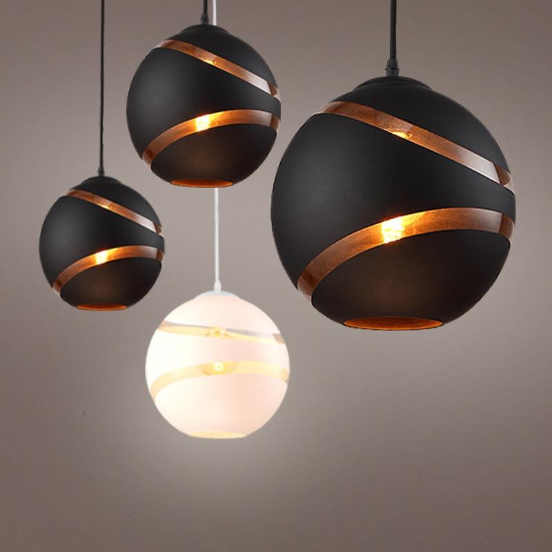 Lampes suspendues d'art moderne Vintage industriel Led classique pendentif salle à manger lumière moderne suspension Bar battre lumière lustre lumière
