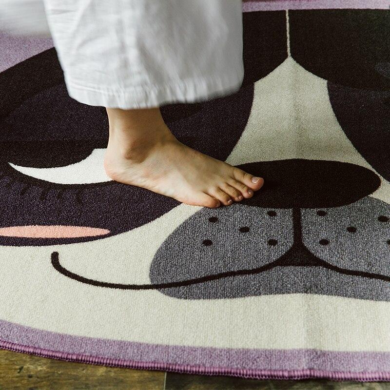 Paysota японский Стиль милая собака мультфильм Ковры Гостиная Спальня диван Кофе стол большой Коврики