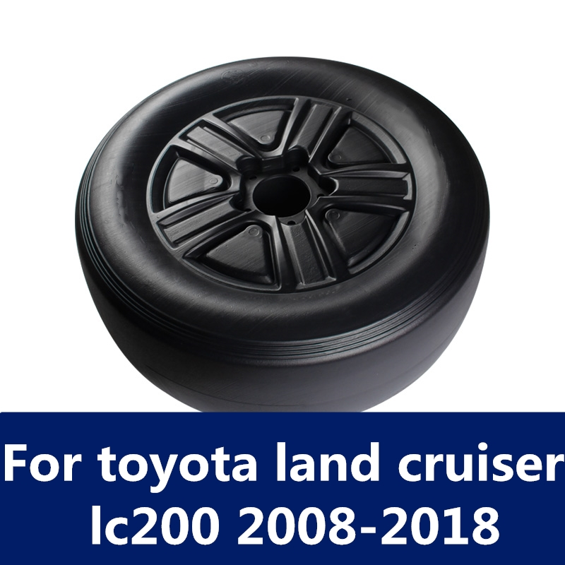 Car Styling False Spare Tire Dedicated Modification Spare Tire Cover Car Accessories For Toyota Land Cruiser Lc200 2008-2018