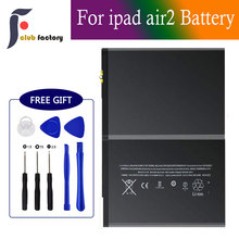 club factory Replacement Battery for iPad Air 2 or iPad 6, Full 7340mAh 0 Cycle Battery - Include Complete Repair Tool Kits wozniak jc pro1000s non removal nand programmer read write icloud repair tool for ipad 2 3 4 5 6 air 1 2 error repair