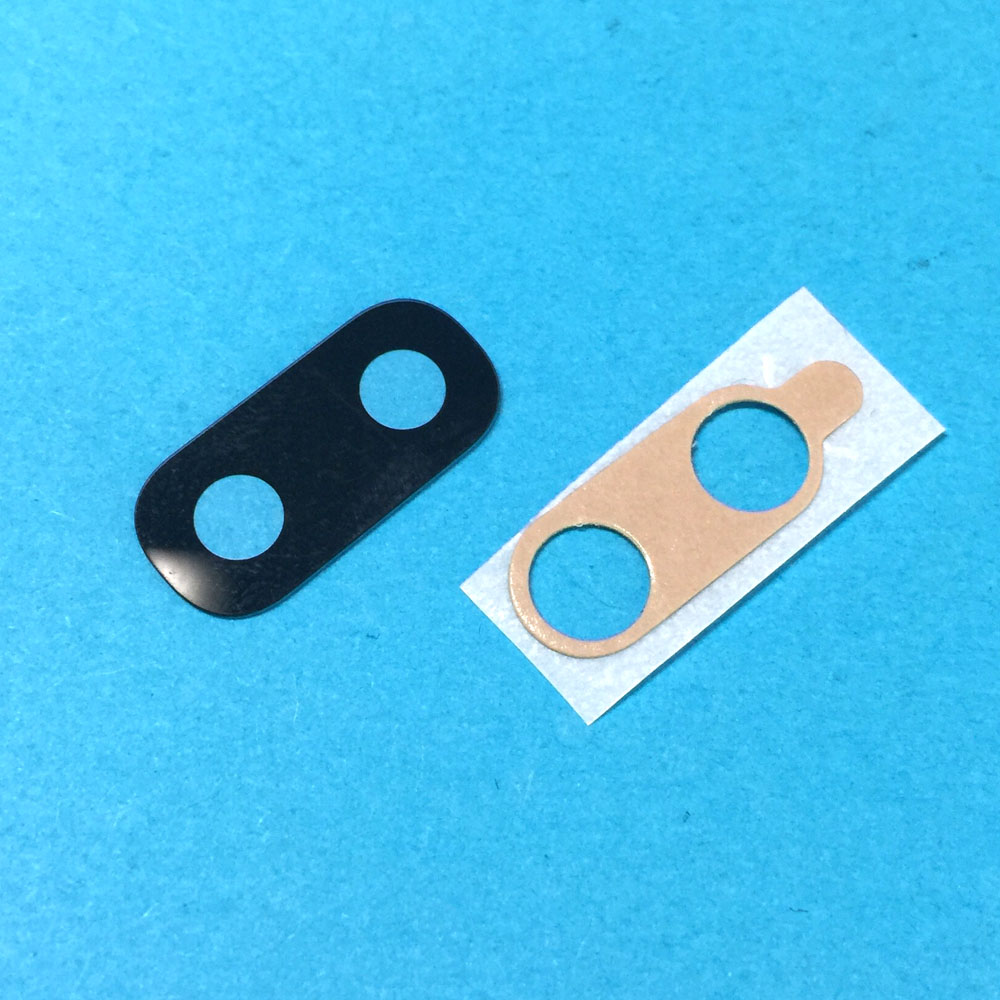For Samsung Galaxy A30 A20 A10 Rear Back Main Camera Glass Lens With Glue Sticker Repair Part