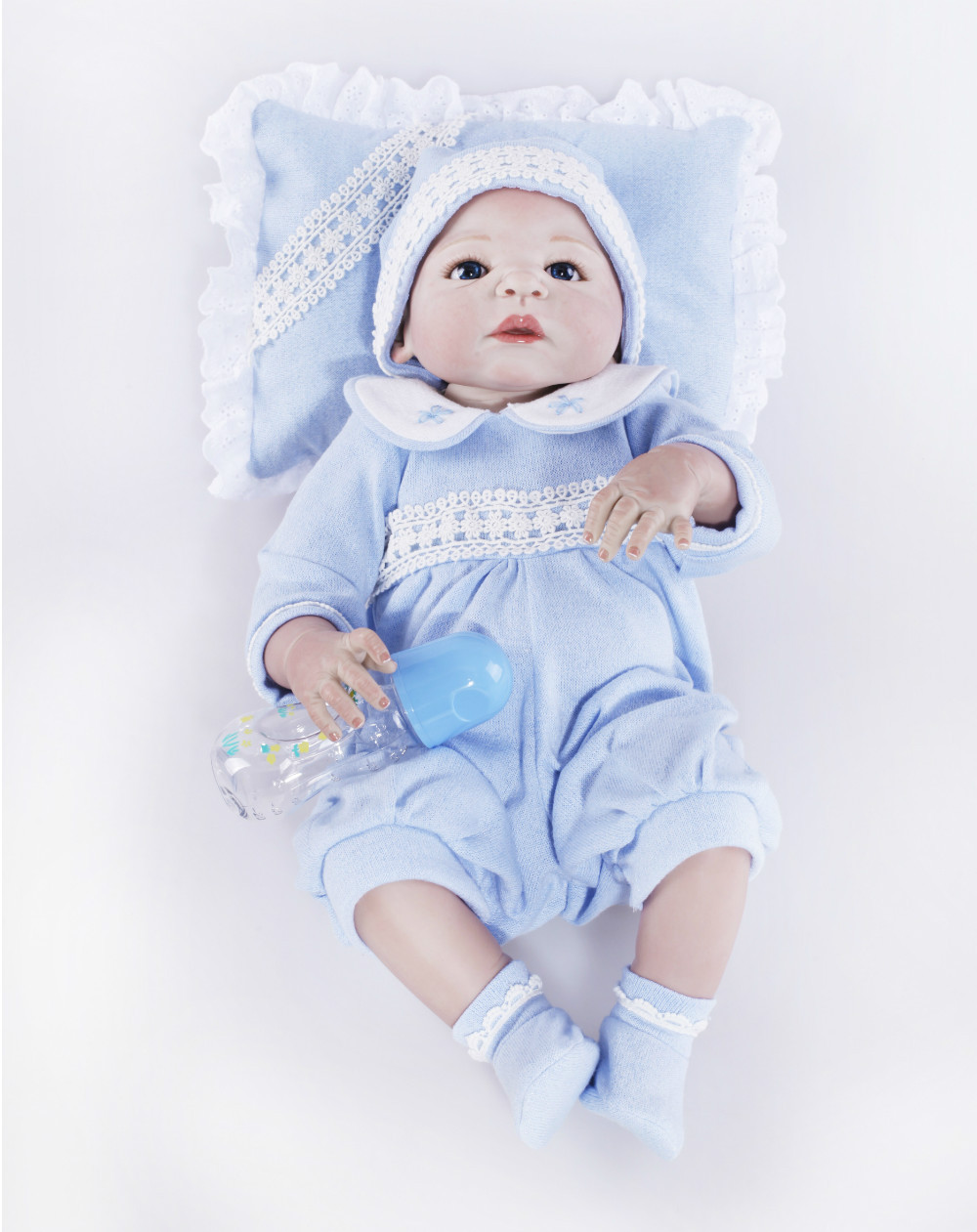 2015 Sales Promotion Full Vinyl Reborn Doll Lifelike Real Touch Babydolls For children Gift2015 Sales Promotion Full Vinyl Reborn Doll Lifelike Real Touch Babydolls For children Gift