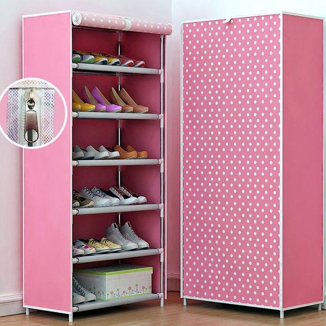 Online Shop COSTWAY Non-woven 6 Tier Shoes Rack Stand Shelf Shoes ...