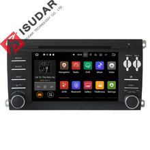 Android 7.1.1 Two Din 7″ Car DVD Player For Porsche/Cayenne 2003-2010 GPS Navigation Radio FM