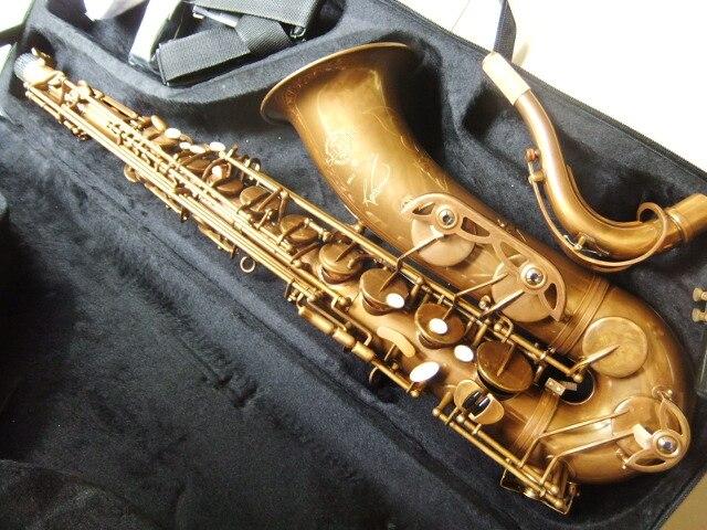 Atacado França Cnbald Saxofone Tenor Saxofone Tenor-Mark VI SI-MICROFONE de Ouro Do Vintage 110612