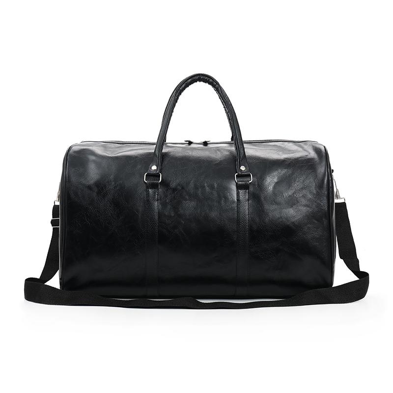 Fashion Portable Ladies Travel Bag Pu Large Capacity Waterproof Short Distance Luggage Bag Sports Fitness Handbag Dropshipping
