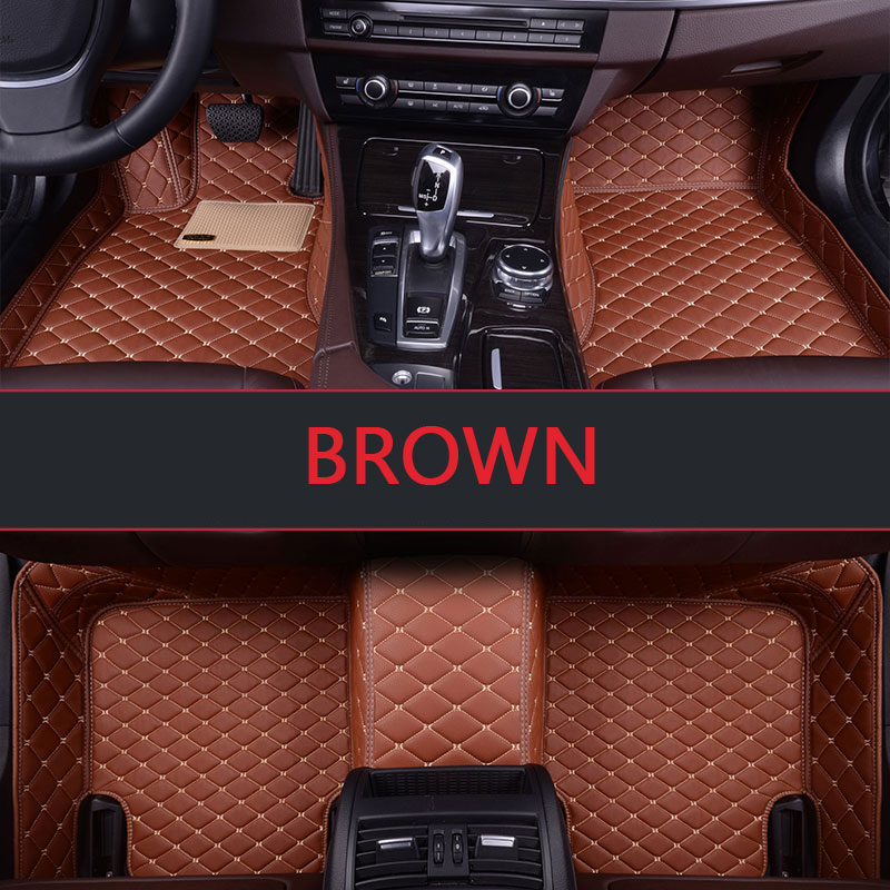 Custom fit car floor mats for Cadillac ATS CTS XTS SRX SLS Escalade 3D car-styling all weather carpet floor liner Free shipping