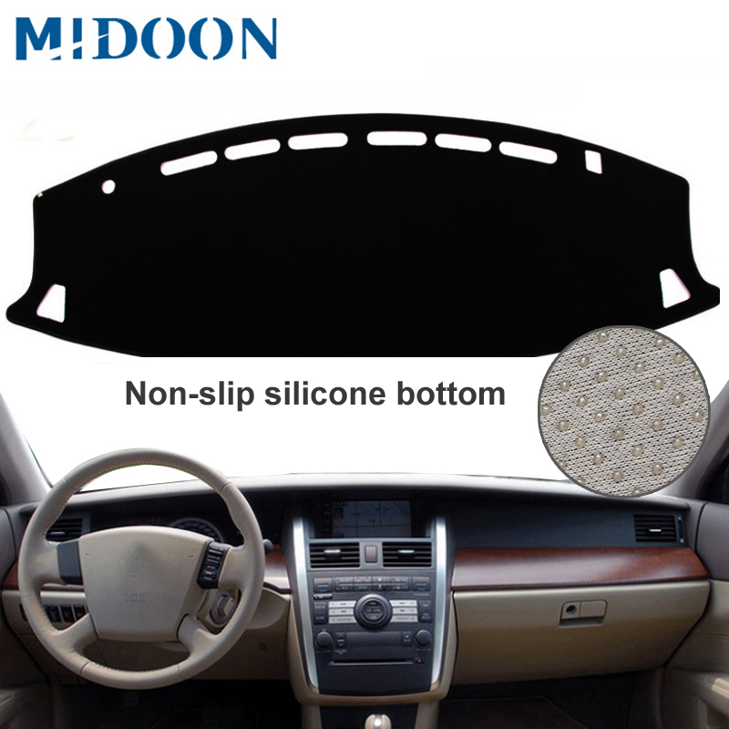 MIDOON For Nissan Teana J31 2003 -2008 Car Styling Covers Dashmat Dash Mat Sun Shade Dashboard Cover Capter 2004 2005 2006 2007
