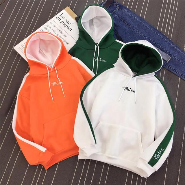 2018 New Arrival Spring Autumn Hoodies Sweatshirts Women Ladies Casual Long Sleevel Tops Blouse Daily Clothes by Miarhb