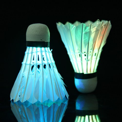 5Pcs ED Badminton Shuttlecock Bright In Night Outdoor Entertainment Sport Accessories In Night