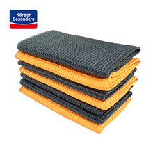 High quality Car Wash Towel strong Microfiber Window Clean Wipes Auto Detailing Waffle Weave for Kitchen Bath 40*40cm wholesale