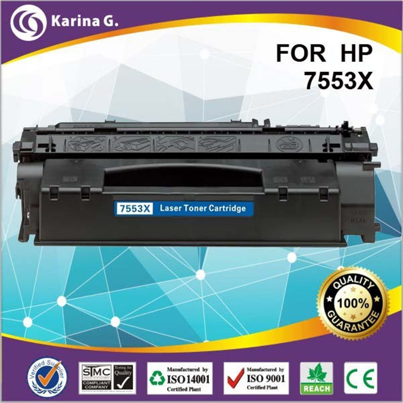 high page yield laser toner cartridge for 53x 7553x for hp Q7553x for HP LaserJet 3390MFP/3392MFP for Canon LBP-3300 набор page