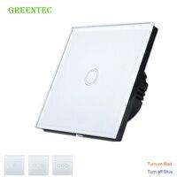 EU UK Standard Switch 1Gang 2Gang 3 Gang White Touch Switch Smart Home Automation Wireless Wifi