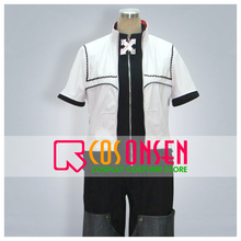 COSPLAYONSEN Kingdom Hearts 2 Roxas Cosplay Costume All Size Custom Made